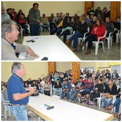 Decreto del intendente con aumento del 15% para los municipales con un Batista muy  comprensivo