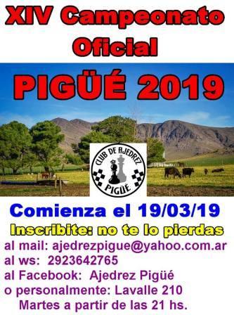 Ajedrez - Se viene el 14° Torneo Oficial del club local.