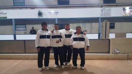 Bochas - Deportivo Argentino es campeón en bochas 3ra división parejas.