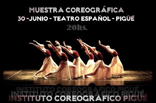 Presentación del Instituto Coreográfico Pigüé en el Teatro Español