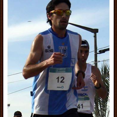 Lucas Negro de Puán y Solange Tourret de Pigüé ganadores en los 10 k Desafío Curumalal.