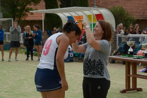 Hockey Femenino - Sub 16 -  Martina Sánchez goleadora del campeón Sportiva
