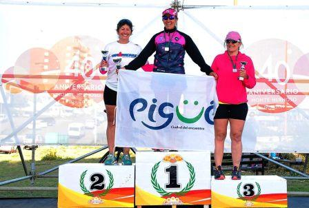 Atletismo - Patricia Gómez Sarlinga fue 1ra en su categoría en Monte Hermoso.