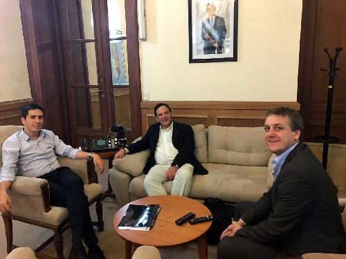Gestiones del concejal Luis María Sevenié en organismos de la Nación