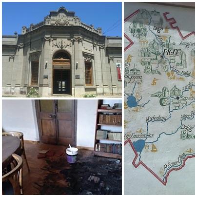 Sin novedades  sobre el incomprensible vandalismo y robo de material de gran valor histórico en La Sociedad Francesa