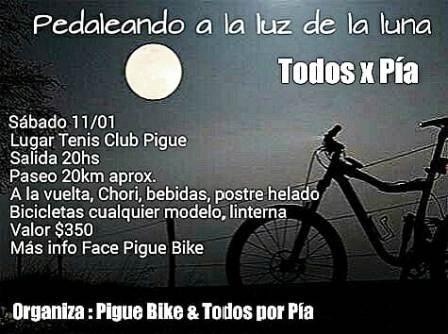 Rural Bike - Da comienzo la actividad local con una pedaleada a beneficio.