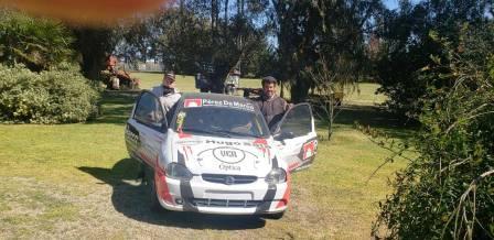 El pigüense Oscar Rosales se suma al Rally Bonaerense.