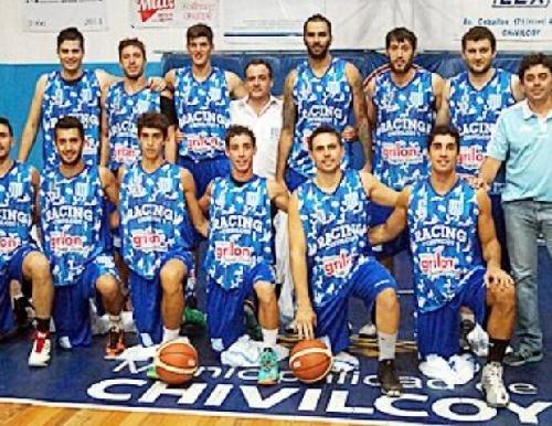 Basquet Federal - Erbel Di Pietro con Rácing de Chivilcoy ya tienen los rivales asegurados para el torneo.