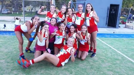 Hockey Femenino - Sub 14 -Jugada la fecha 8va, Deportivo Sarmiento de Carhué sigue como líder.