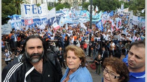 Convocan a nuevo paro docente de 48 hs en Provincia de Buenos Aires martes 20 y miércoles 21 / 11
