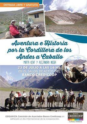 Mujeres piguenses a caballo por Los Andes