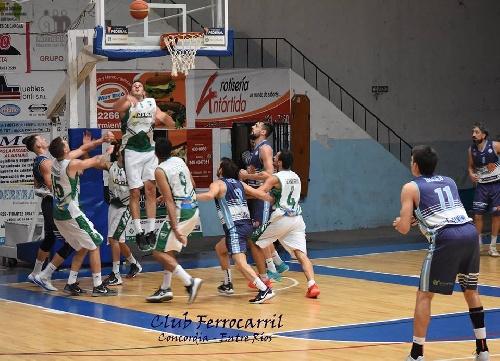 Basquet Federal - Ferro de Concordia gana el 2° punto de Play Off ante BH. 11 puntos para David Fric.