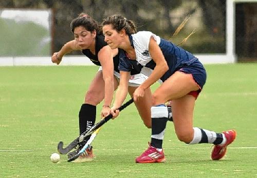 Hockey Campeonato Argentino - Ivana Mazars con el seleccionado bahiense.