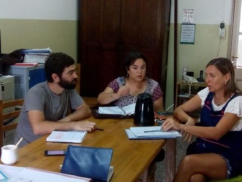 El Secretario de Cultura Agustin Camandona en Dufaur