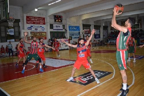 Basquet Provincial - Deportivo Sarmiento como local venció a Pellegrini
