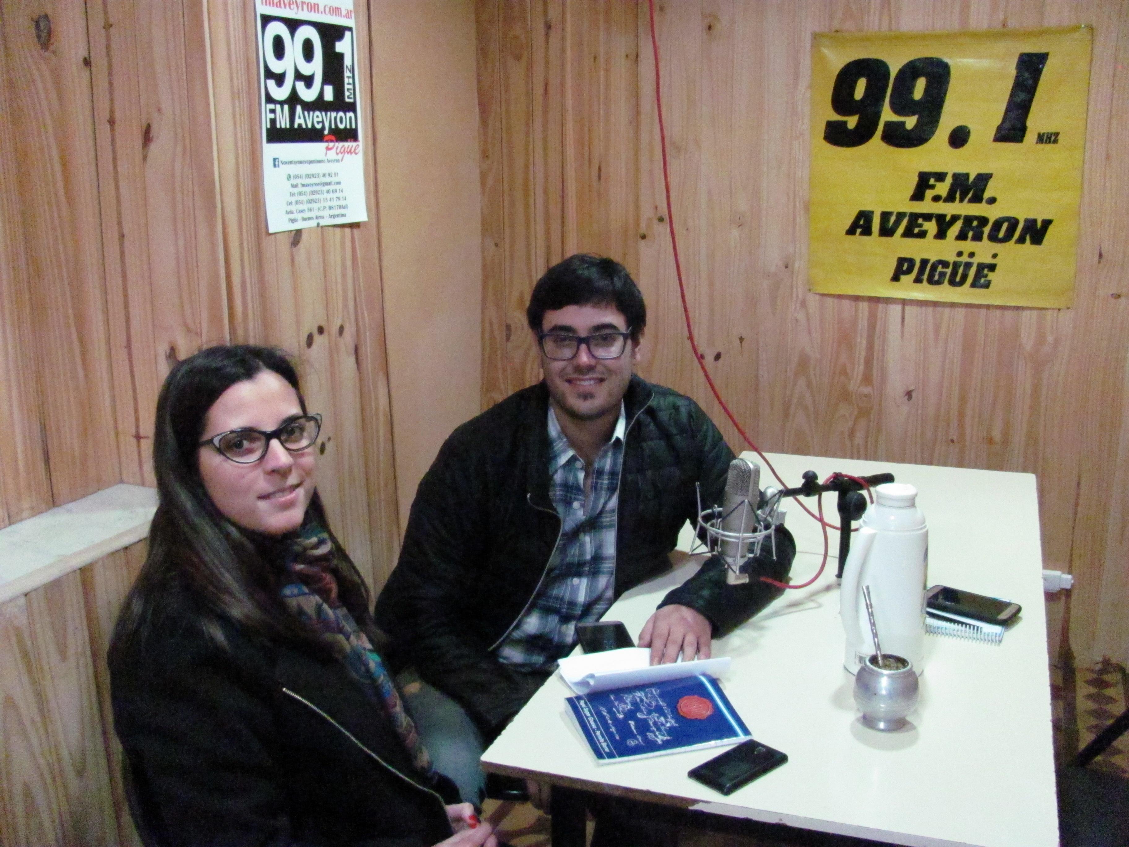 """El concejal  Matias Nebot y Micaela Collucci convocaron a participar del programa """"Ahora Emprende"""""""