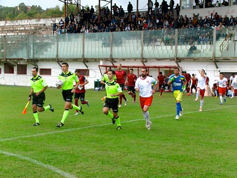 Calcio Serie D - Con Maxi Ginobili el Rende bate al Vigor Lamezia por uno a cero.