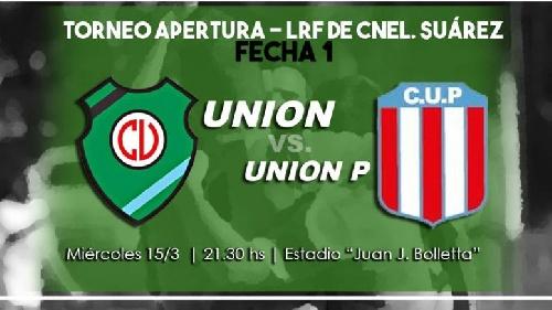 LRF - Unión Pigüé debuta oficialmente en el Torneo Liguista enfrentando mañana a Unión de Tornquist