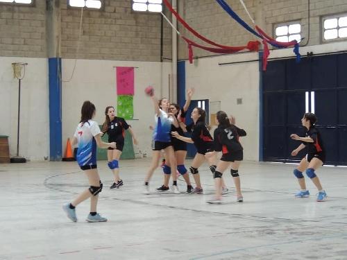 Handball Femenino - Positivo fin de semana para las chicas del Cef 83.