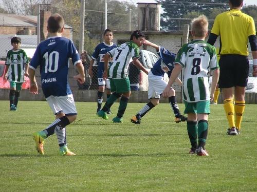 LRF - Inferiores - Deportivo Argentino ganó en 6ta y Peñarol en 6ta y 7ma.
