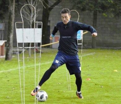 Nacional B - Leandro González comenzó los entrenamientos con el Cervecero.