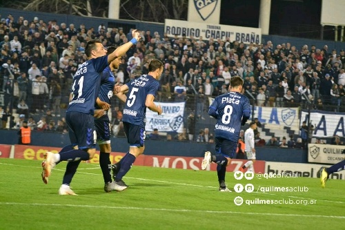 1ra Nacional - Quilmes venció a All Boys 3 a 1 con un gol de González y otro de Prost.