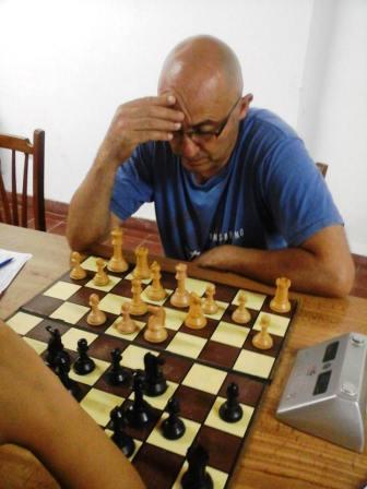 Ajedrez - Dellapittima se quedó con el Blitz de abril.