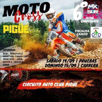 El 14 y 15 de setiembre habrá motocross, TPS y F3CV en nuestra ciudad.