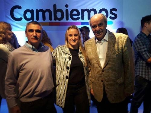 La piguense Mariana Casabone compartió con CAMBIEMOS de Adolfo Alsina