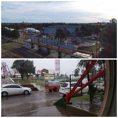 Las lluvias obligaron a reprogramar la FISA en Bahia Blanca