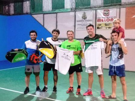 Padel - Nicolás Tracanelli y Marcelo Zelaya ganadores de torneo de 6ta división.