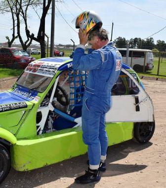 Fórmula 3CV - Darío Rausch marcó el 2° tiempo en la clasificación sabatina.