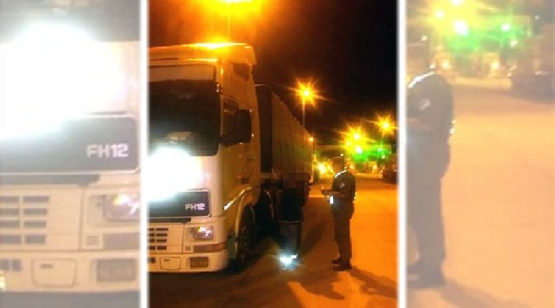 Ruta 33: Secuestran un camión que salió de Bahía con precursores químicos que se utilizan para fabricar drogas ilegales