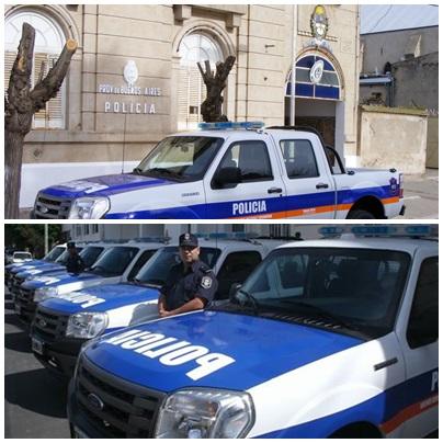 Pigüé: parte de prensa policial, hurtos, robos, consumo de droga, y detención por causa de abuso sexual
