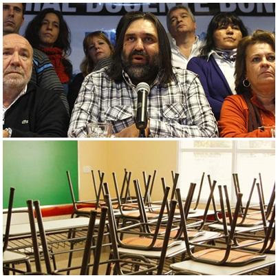 Nuevo paro docente convocado por los sindicatos bonaerenses para el lunes