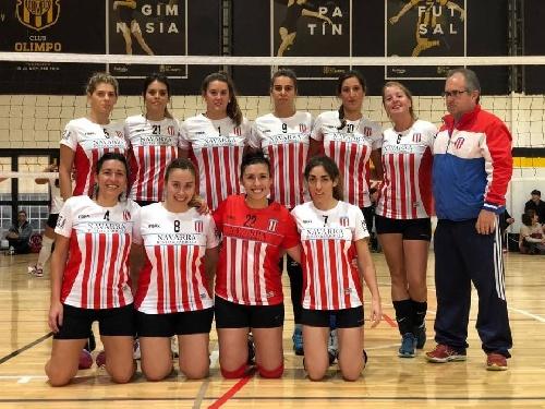Voley Femenino - Unión Pigüé jugó en Coronel Suárez por una nueva fecha de la Asociación.