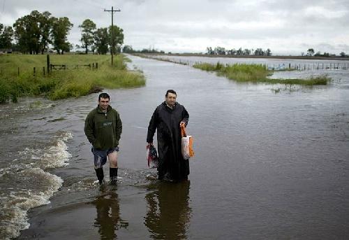 Denuncian que fondos para obras hídricas terminaron en Tecnopolis