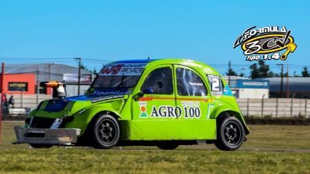 Fórmula 3CV - Importante ascenso de Darío Rausch en el campeonato.