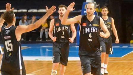Basquet Bahiense - Liniers venció a Napostá en el 1° play off por el campeonato.