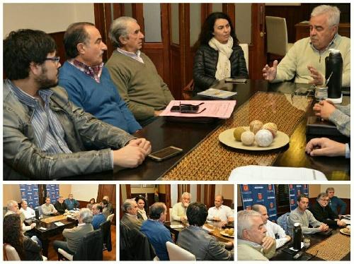 El intendente se reunió con la diputada Merquel y concejales de todos lo Bloques politicos del HCD