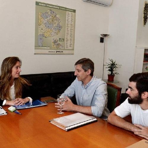 El intendente se reunió con la Directora General de Educación Bonaerense Lic Agustina Vila