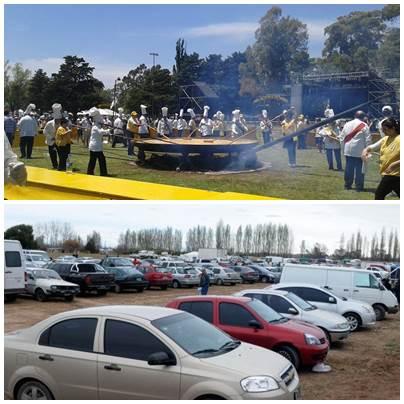 Pigüé: ingreso y estacionamiento en el Parque Municipal para los espectáculos y la Omelette Gigante Gratuita