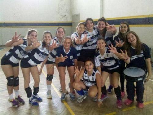 Voleibol Femenino - Sarmiento de Pigüé se quedó con el título Sub 16