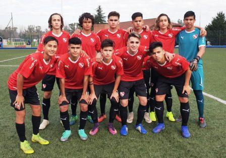 AFA - Inferiores - La 8va de Independiente con Tomás Prost visitó a Lanus.