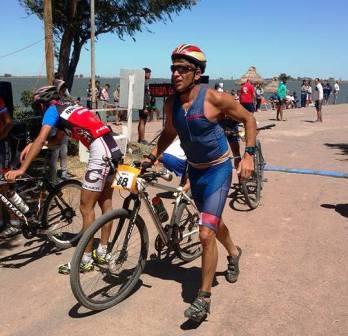 Triatlón - Jorge Rodríguez finalizó 2° en la general del Lago del Monte en Guaminí.