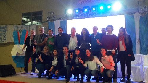 El Frente de Todos presentó sus candidatos para el Distrito de Saavedra Pigüé