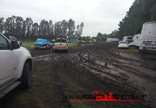 Categorías del Sudeste - El mal tiempo obligó a la suspensión de la competencia en San Cayetano.