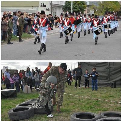 Visitas didácticas  para escuelas y Jornada de Puertas Abiertas en la base del Ejército en Pigüé