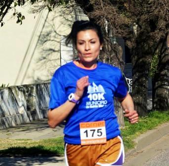 Atletismo - Con 46 puntos acumulados, Yanina Clair es cómoda líder del 6 ciudades.