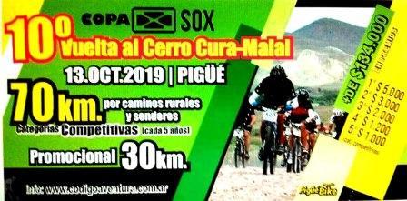 La 10ma vuelta del Cerro Curumalal fue presentada por Pigüé Bike.